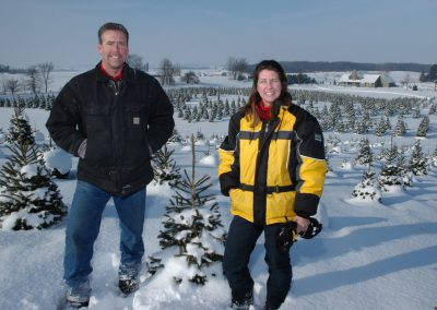 Aissen Tree Farm owners