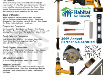 Habitat for Humanity Program