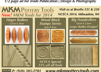 MKM Pottery Tools print ad