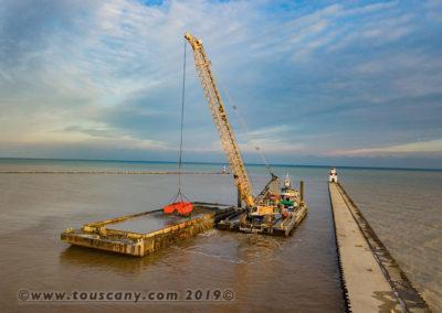 Kewaunee Harbor Dredging 2019