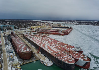 Sturgeon Bay Winter Lay-up at Bay Ship Building