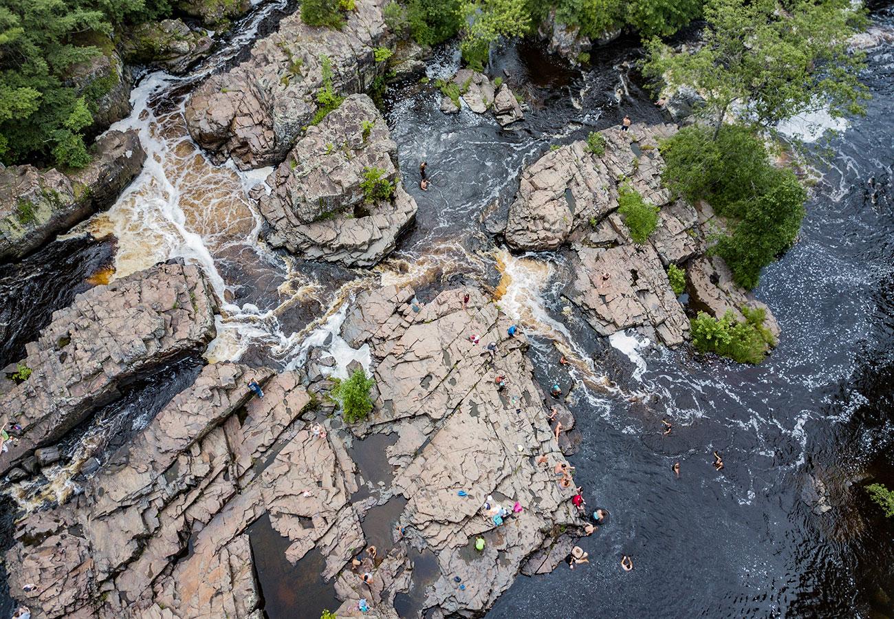 Dells of Eau Claire River County Park photo