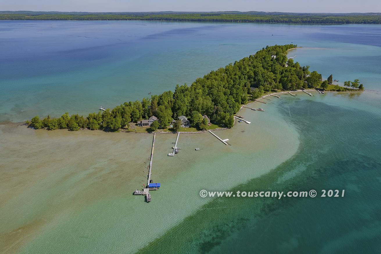 Treasure Island on Higgins Lake, MI photo