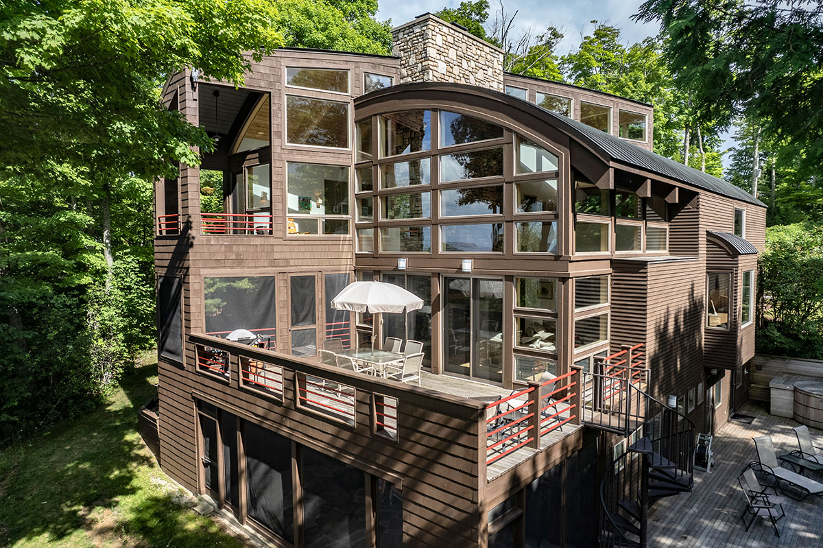 Chicago architect, Edward Shannon III, residential home design photo
