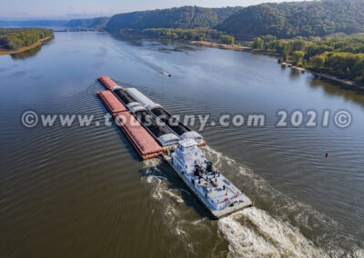 Kenny Eads Tug - American Commercial Barge photo
